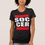camiseta para mujer del fútbol de los chicas