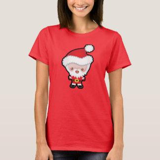 Camiseta para mujer del navidad lindo de Kawaii