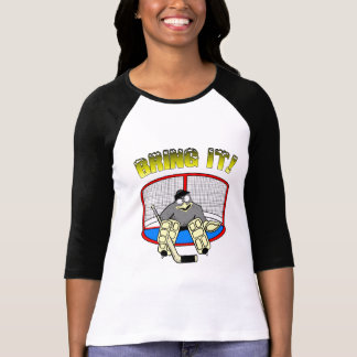 Camiseta para mujer del portero del pingüino
