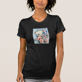 Camiseta para mujer del primer cumpleaños de Babys Playeras