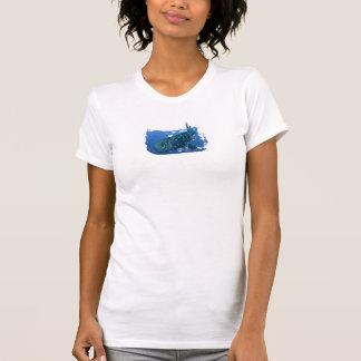 Camiseta para mujer del tirante de espagueti del remera