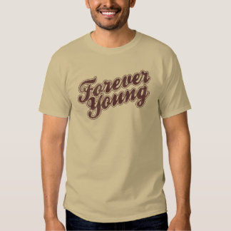 Camiseta para siempre joven playera