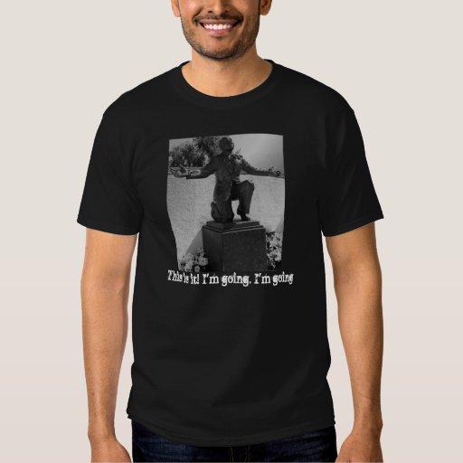 Camiseta pasada de las palabras de Al Jolson Remera
