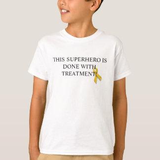 Camiseta pasada del tratamiento del chemo de la poleras