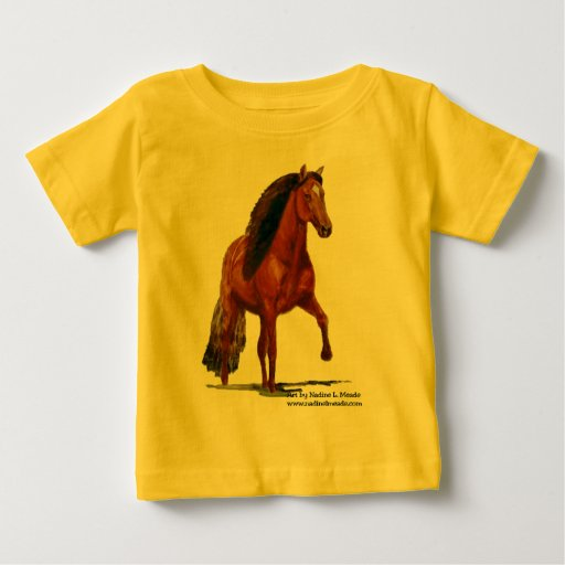 Camiseta, Paso peruano rojo Playera De Bebé