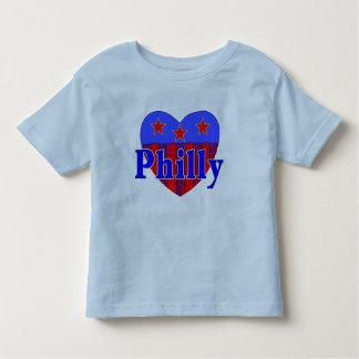 Camiseta patriótica del niño de Philly