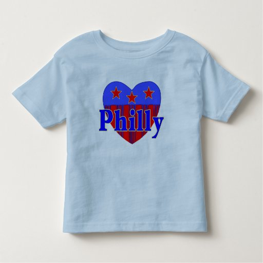 Camiseta patriótica del niño de Philly Playeras