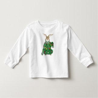 Camiseta pegajosa del conejito del suéter del