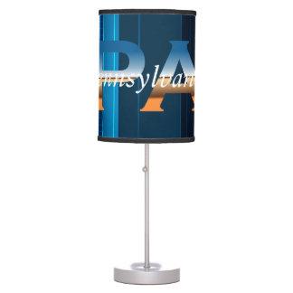 CAMISETA Pennsylvania Lámpara De Mesilla De Noche