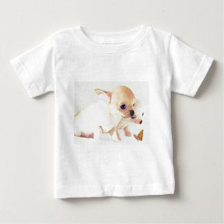 Camiseta pequenita dulce de los perritos playera para bebé