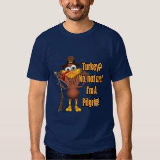 Camiseta - peregrino de Turquía de la acción de Polera