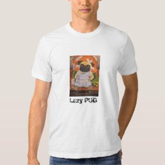 Camiseta perezosa del BARRO AMASADO Poleras