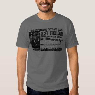 Camiseta perpetua de la deuda remera