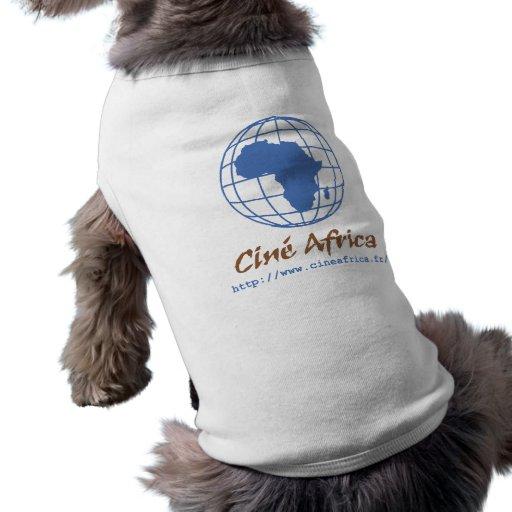 Camiseta Perro Cine Africa Playera Sin Mangas Para Perro