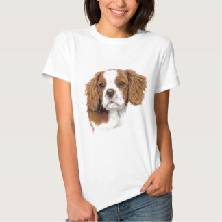 Camiseta: Perro de aguas de rey arrogante Charles Polera