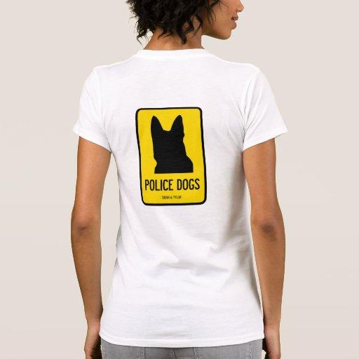"""Camiseta """"perros policía """""""
