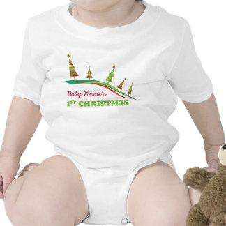 Camiseta personalizada árboles del navidad de