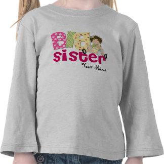 Camiseta personalizada Brunette de la hermana gran