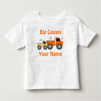 Camiseta personalizada camión grande del primo camisas