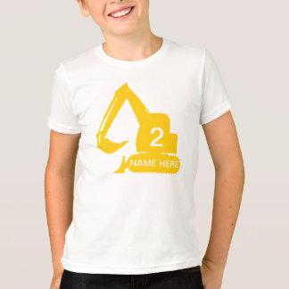Camiseta personalizada de la construcción con remeras