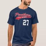 Camiseta personalizada de la pantera de la marina