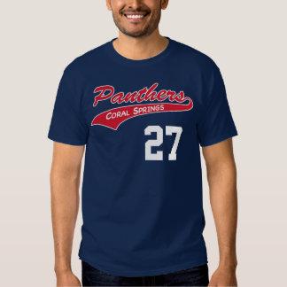 Camiseta personalizada de la pantera de la marina remeras