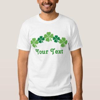 Camiseta personalizada de los niños del día del St Playeras