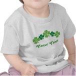 Camiseta personalizada del bebé del día del St Pat