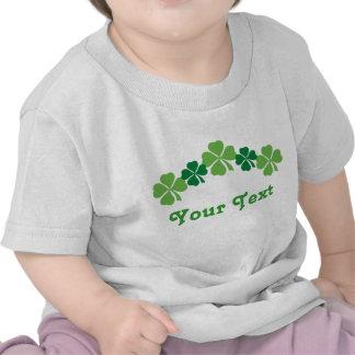 Camiseta personalizada del bebé del día del St