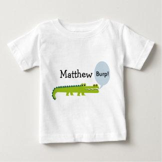Camiseta personalizada del cocodrilo de los niños camisas