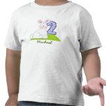 Camiseta personalizada del conejito (2 años)