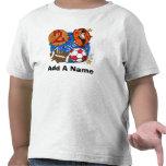 Camiseta personalizada del cumpleaños de los depor