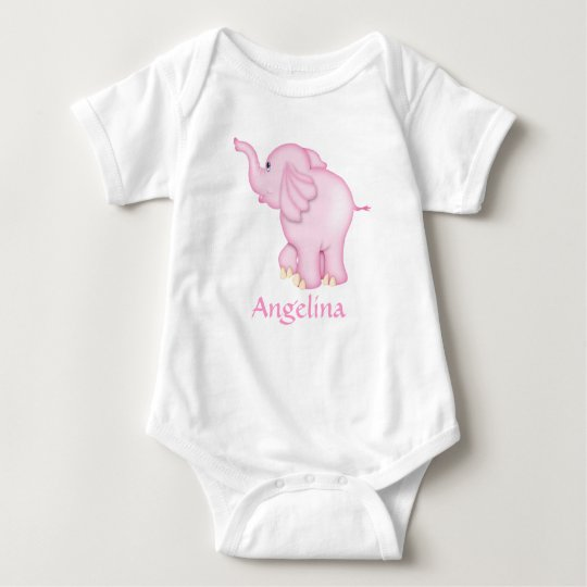 Camiseta personalizada del elefante