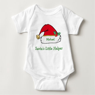 Camiseta personalizada del navidad del ayudante de poleras