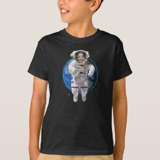 Camiseta personalizada divertida del astronauta de camisas