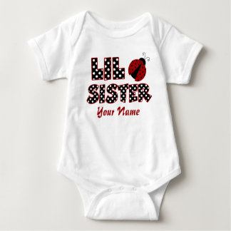 Camiseta personalizada mariquita de la pequeña playeras