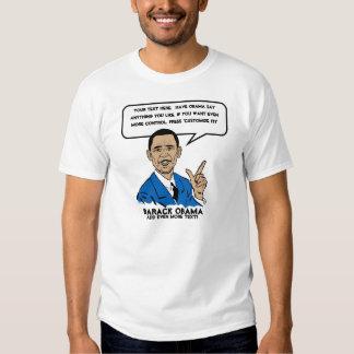 Camiseta personalizada Sez de Obama Remeras