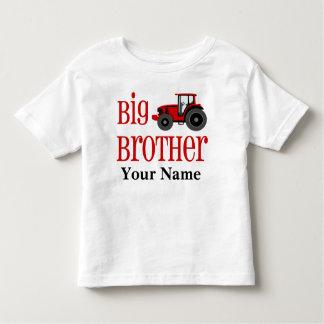 Camiseta personalizada tractor de hermano mayor polera