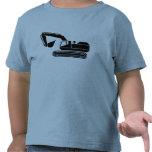 Camiseta picadora del conductor de los niños