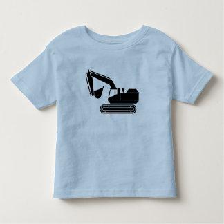 Camiseta picadora del conductor de los niños playeras