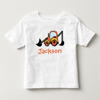 Camiseta picadora del niño de la construcción camisas
