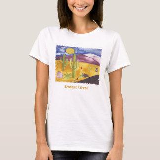 Camiseta pintada del desierto
