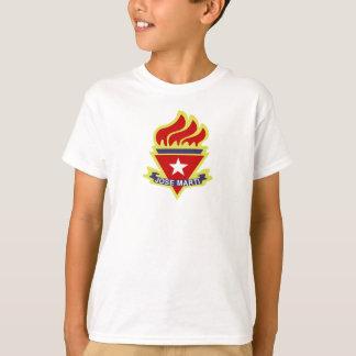Camiseta pionera joven cubana playeras