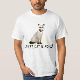 Camiseta Pissed gato del hockey
