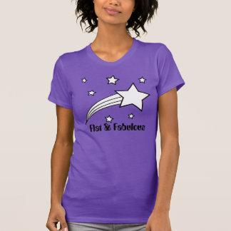 Camiseta plana y fabulosa