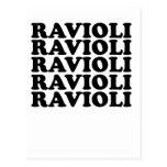 camiseta .png de los raviolis de los raviolis tarjetas postales