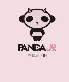 Camiseta/PNK/Tei del Ropa-Gráfico de la PANDA J9