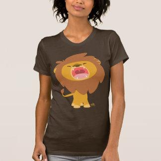 Camiseta poderosa linda de las mujeres del dibujo camisas