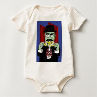 Camiseta Poirot Body De Bebé
