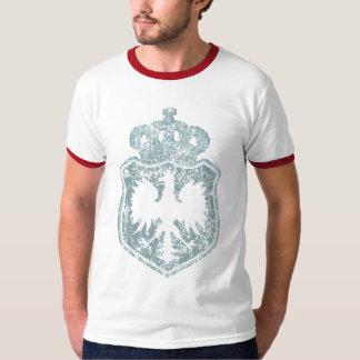 Camiseta polaca del escudo w/crown playera